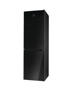 INDESIT Refrigerator LI8 SN2E K Energy efficiency class F, Free standing, Combi, Height 188.9 cm, Fridge net capacity 230 L, Freezer net capacity 98 L, 40 dB, Black