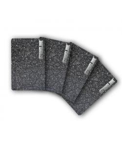 Stoneline cutting board set, grey