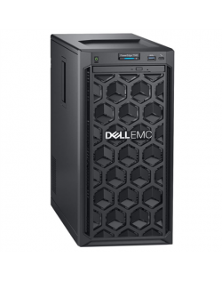"""Dell PowerEdge T140 Tower, Intel Xeon, E-2234, 3.6 GHz, 8 MB, 8T, 4C, UDIMM DDR4, 2666 MHz, No RAM, No HDD, Up to 4 x 3.5"""", PERC"""