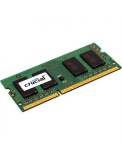 Crucial 4 GB, DDR3, 1600 MHz, Notebook, Registered No, ECC No
