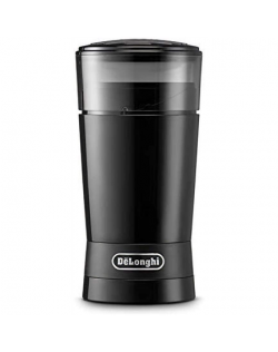 Delonghi Coffee Grinder KG200 170 W, Coffee beans capacity 90 g, Number of cups 12 pc(s), Black