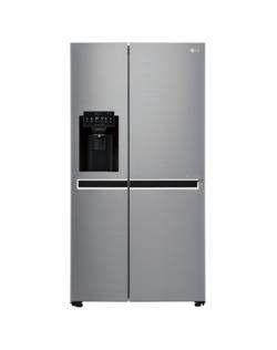 LG Refrigerator GSL761PZUZ Free standing, Side by Side, Aukštis 179 cm, A++, Bešerkšnė sistema, Šaldytuvo talpa neto 405 l, Šald