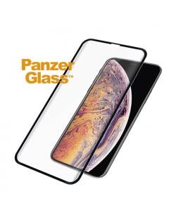 PanzerGlass 2644 Screen protector, Apple, iPhone Xs Max, Tempered glass, Transparent/Black