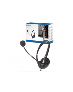 Logilink Stereo Headset Earphones with Microphone 3.5 mm