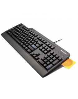 LENOVO USB Smartcard Keyboard - US English with Euro symbol Lenovo Standard, Wired, Keyboard layout English US