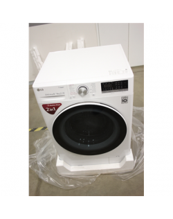 SALE OUT. LG Washing machine with dryer F4DN408S0 Energy efficiency class A, Front loading, Washing capacity 8 kg, 1400 RPM, Dep