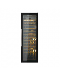 Candy Wine Cooler CWC 200 EELW Energy efficiency class G, Free standing, Bottles capacity Up to 82 bottles, Black