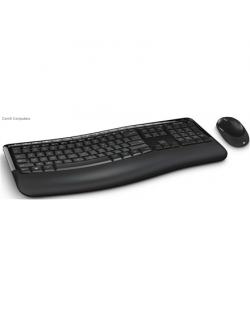 Microsoft Comfort Keyboard 5050 PP4-00019 Keyboard and mouse, Wireless, Keyboard layout EN, USB, Black, No, Wireless connection