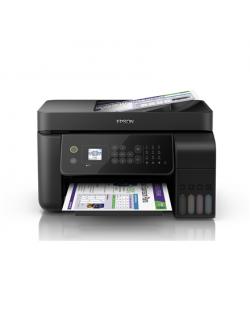 Epson 4-in-1 printer EcoTank L5190 Colour, Inkjet, All-in-one, A4, Wi-Fi, Black