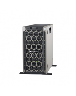 Dell PowerEdge T440 Tower, Intel Xeon, Silver 1x4214, 2.2 GHz, 16.5 MB, 24T, 12C, RDIMM DDR4, 2666 MHz, No RAM, No HDD, Up to 8