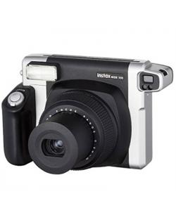 Fujifilm Instax Wide 300 camera Black, Alkaline, 800, 0.3m - ∞