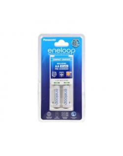 Eneloop Basic charger K-KJ50MCC20E + 2 AA batteries (1900mAh) Panasonic K-KJ50MCC20E Ni-MH, Kit contents 2 x AA rechargeable bat