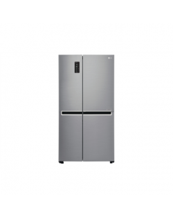 LG Refrigerator GSB760PZXV Energy efficiency class F, Free standing, Side by Side, Height 179 cm, No Frost system, Fridge net ca