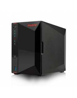 Asus Asustor Nimbustor 2 AS5202T up to 2 HDD/SSD, Intel Celeron J4005 Dual-Core, Processor frequency 2.0 GHz, 2 GB, SO-DIMM DDR4