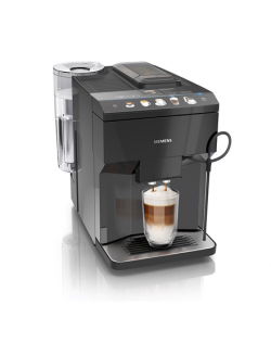 SIEMENS Coffee Machine TP501R09 Pump pressure 15 bar, Built-in milk frother, Fully automatic, 1500 W, Black
