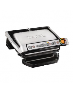 TEFAL Electric grill GC712D34 Contact, 2000 W, Silver