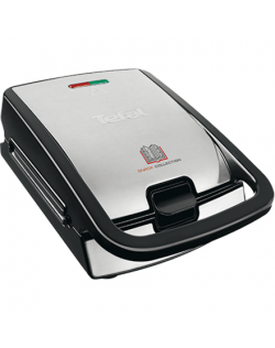 TEFAL SW852D12 Sandwich Maker 700 W, Number of plates 2, Number of pastry 2, Stainless steel
