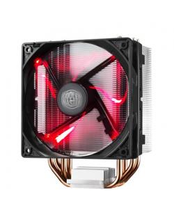 Cooler Master cooler HYPER 212 EVO Cooler Master Hyper 212 RED LED Universal cooler, 4 x Ø6mm heat-pipes, Intel 115X/1366/2011/2