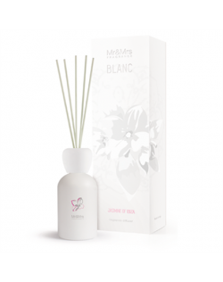 Mr&Mrs BLANC Jasmine Of Ibiza 250ml, Liquid diffuser, Jasmine/Ivy/Musk