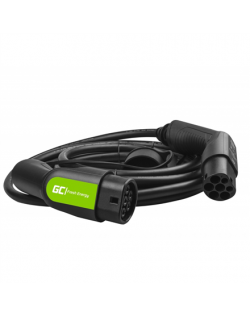 Green Cell EV08, Cable Green Cell GC Type 2 22kW 7m for charging EV / PHEV, Output Type 2, 32 A