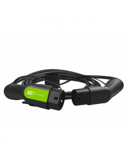 Green Cell EV13, Cable Green Cell GC Type 2 3.6kW 5m for charging EV / PHEV, Output Type 2, 16 A