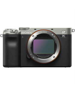 Sony Alpha A7C Full-frame Mirrorless Interchangeable Lens Camera, Body, Silver