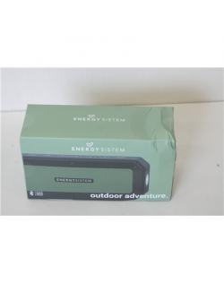 SALE OUT. Energy Sistem Outdoor Box Adventure (10 W, Bluetooth, Water-resistant, Shockproof, Torch light), DAMAGED PACKAGING Ene