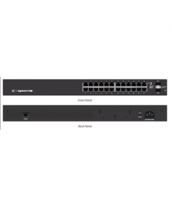 Ubiquiti EsgeSwitch ES-24-Lite Managed, Rack mountable, 1 Gbps (RJ-45) ports quantity 24, SFP ports quantity 2