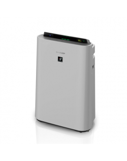 Sharp Air Purifier with humidifying function UA-HD60E-L 5.5-80 W, Suitable for rooms up to 48 m², Grey