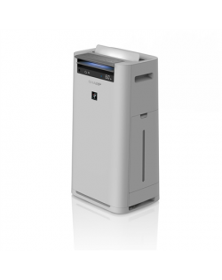 Sharp Air Purifier with humidifying function UA-HG50E-L 5-53 W, Suitable for rooms up to 38 m², Grey