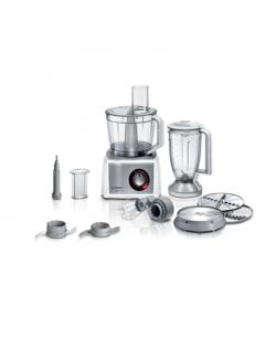 Bosch Food Processor MultiTalent 8 MC812S814 White, 1250 W, Number of speeds 2, 3.9 L, Blender