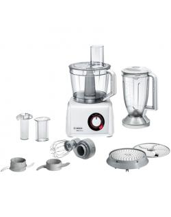 Bosch Food Processor MultiTalent 8 MC812W501 White, 1000 W, Number of speeds 2, 3.9 L, Blender