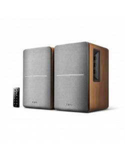 Edifier R1280DB Speaker type 2.0, 3.5mm/Bluetooth/Optical/Coaxial, Brown, 42 W, Bluetooth