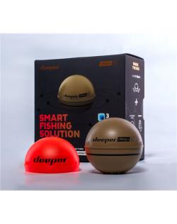 Deeper Smart Sonar Chirp+ 2 Sonar, Desert sand