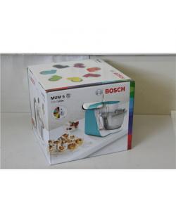 SALE OUT. Bosch MUM54A00 Kitchen Machine StartLine, 900W, 7 switch settings, White/Grey Bosch Kitchen machine MUM54A00 Black, Si