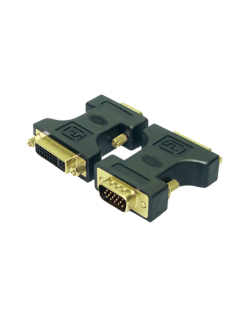 LogiLink® DVI Adapter DVI-I female - VGA DSUB male Logilink