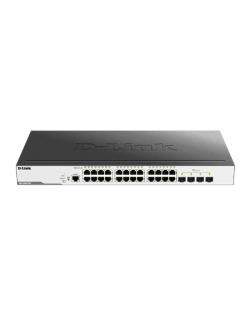 D-Link Switch DGS-3000-28X Managed L2, Rack mountable, 1 Gbps (RJ-45) ports quantity 24, SFP+ ports quantity 4, Power supply typ
