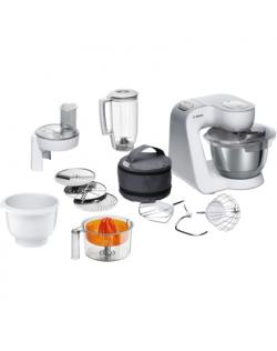Bosch Food processor MUM58243 White, 1000 W, Number of speeds 7, 3,9 L, Blender