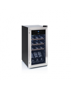 ETA Wine Cooler ETA952890010G Energy efficiency class G, Free standing, Bottles capacity 15, Black