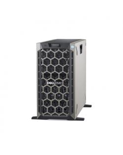 Dell PowerEdge T440 Tower, Intel Xeon, Silver 1x4214, 2.2 GHz, 16.5 MB, 24T, 12C, 1x16 GB, RDIMM DDR4, 2666 MHz, SSD 480 GB, Up