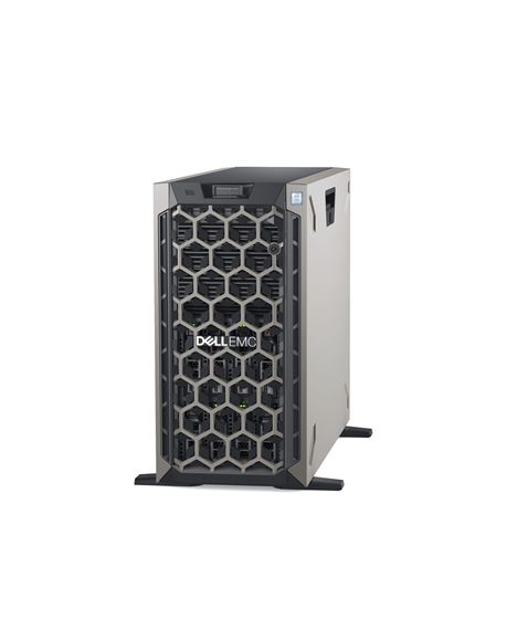 Dell PowerEdge T440 Tower, Intel Xeon, Silver 1x4208, 2.2 GHz, 11 MB, 16T, 8C, 1x16 GB, RDIMM DDR4, 2666 MHz, SSD 480 GB, Up to