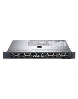 """Dell PowerEdge R340 Rack (1U), Intel Xeon, E-2224, 3.4 GHz, 8 MB, 4T, 4C, UDIMM DDR4, 2666 MHz, No RAM, No HDD, Up to 4 x 3.5"""","""