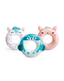 Intex Cute Animal Tubes Swim Ring Random colour