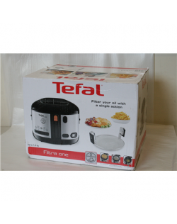 SALE OUT. TEFAL Fryer Filtra One FF175D Power 1900 W, Capacity 2.1 L, Black/Stainless steel, DAMAGED PACKAGING
