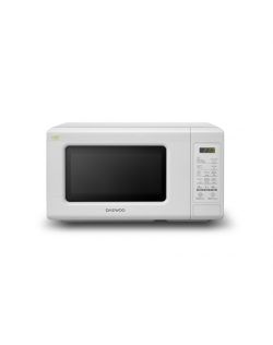 DAEWOO Microwave oven KOR-661BW Electronic, 700 W, White, Free standing
