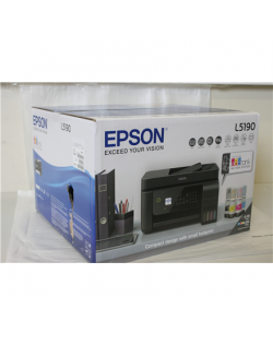 SALE OUT. Epson EcoTank L5190, 4-in-1, Print, Scan, Copy, Fax Epson 4-in-1 printer EcoTank L5190 Colour, Inkjet, All-in-one, A4,