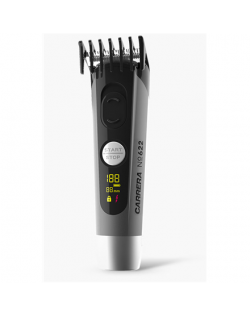 Carrera Hair clipper No. 622 + 526 Universal Charging Station Cordless, Number of length steps 4, Grey/Black