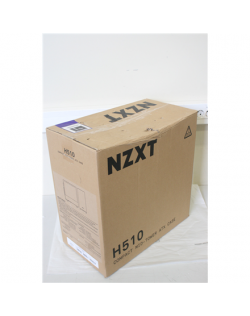 SALE OUT. NZXT H510 Compact Mid Tower White/Black NZXT H510 Side window, White/Black, ATX, DAMAGED PACKAGING, Power supply inclu