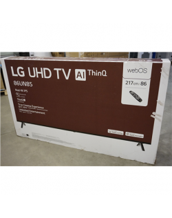 "SALE OUT. LG 86UN85003LA 86"" (217 cm) Ultra HD 4K Smart TV LG 86UN85003LA 86"" (217 cm), Smart TV, WebOS, 4K Ultra HD, 3840 x 216"