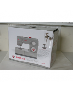 SALE OUT. Singer Sewing machine SMC 4423 Bagged, 600 W, Number of stitches 23, Number of buttonholes 1, Grey, 3.5 L, 80 dB, DAMA